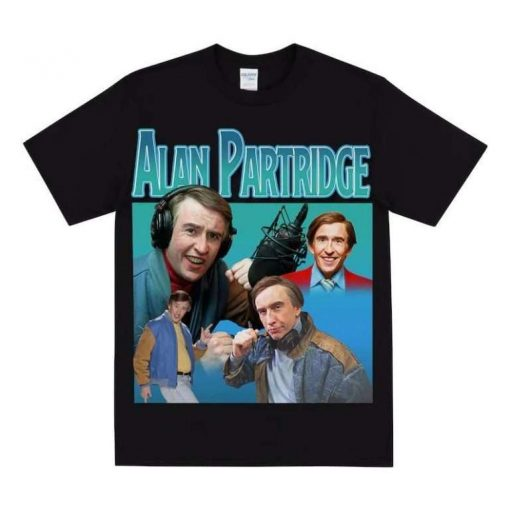 Alan Partridge Steve Coogan Actor Unisex T-Shirt