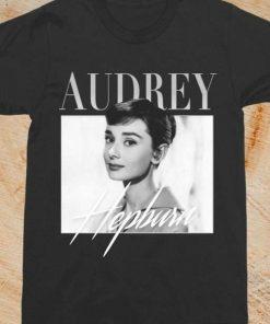 Audrey Hepburn Vintage Unisex T-Shirt