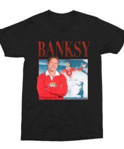 Banksy Neil Buchanan Art Attack Unisex T-Shirt