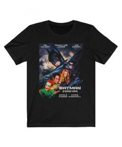 Batman Forever (1995) Superhero Movie T-Shirt