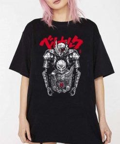 Berserk Swordsman And The Hawk T-Shirt