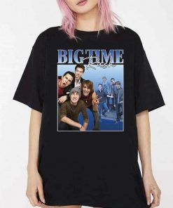 Big Time Rush Retro Vintage Logo And Members T-Shirt