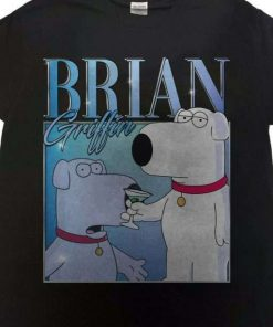 Brian Griffin Family Guy Vintage Unisex T-Shirt
