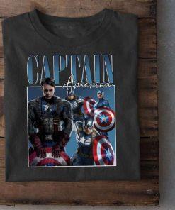 Captain America Chris Evans Lover Unisex T-Shirt