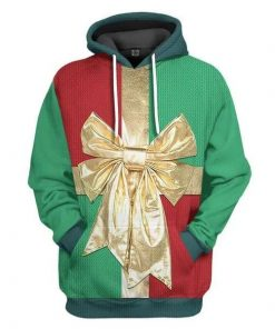 Christmas Gift Box Awesome Unisex 3D Hoodie