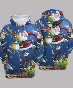 Christmas Multicolor Fashion Unisex 3D Hoodie