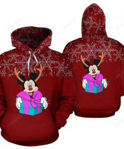 Disney Mickey Christmas  All Over Print  3D Hoodie