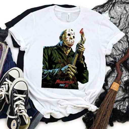 Friday the 13th Jason Voorhees Halloween T-Shirt