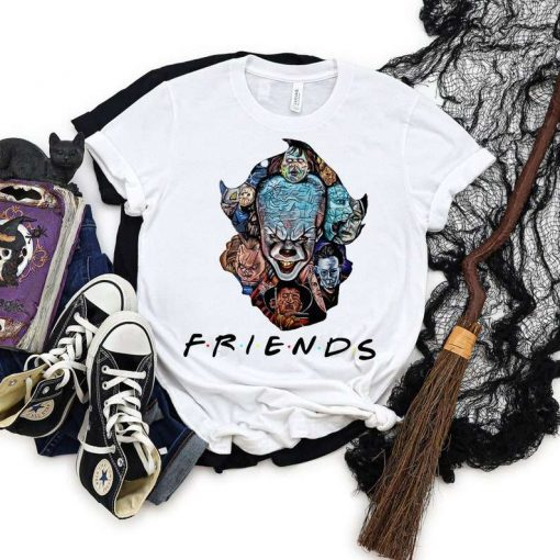 Friends Halloween Pennywise T-Shirt
