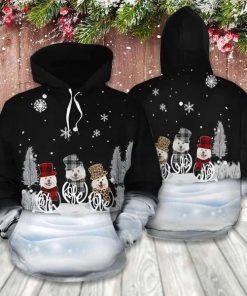 Samoyed Christmas Cute Unisex 3D Hoodie