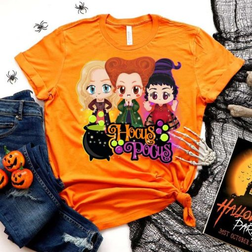 Sanderson Sisters Retro Hocus Pocus Classic T-Shirt