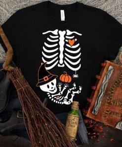 Skeleton Maternity Halloween T-Shirt