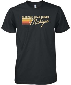 Sleeping Bear Dunes Michigan T-Shirt