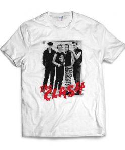 The Clash English Rock Music Band Joe Strummer The Clash T-Shirt