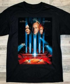 The Fifth Element (1997) Movie T-Shirt