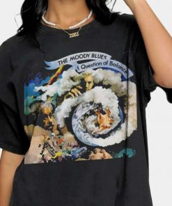 The Moody Blues A Question of Balance Record Album T-Shirt