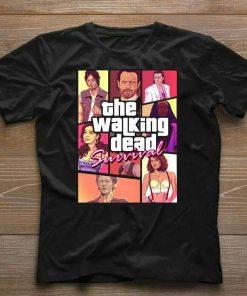 The Walking Dead Retro T-Shirt