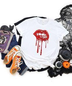 Vampire Lips Halloween Party T-Shirt