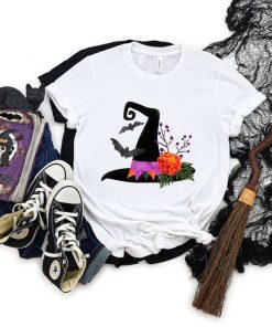 Witch Hat Halloween T-Shirt