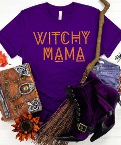 Witchy mama Halloween Party T-Shirt