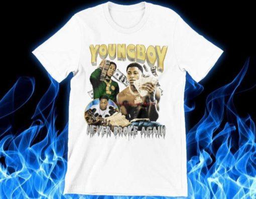 Youngboy Never Broke Again Hypebeast Vintage 90s Rap T-Shirt