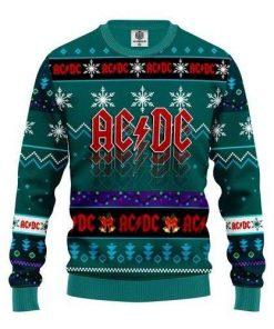 Acdc Christmas Ugly Christmas Sweater