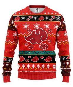 Akatsuki Naruto Anime Ugly Christmas Sweater