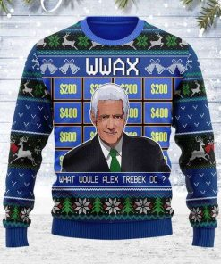 Alex Trebek Ugly Christmas Sweater