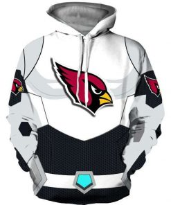 Arizona Cardinals 3D Printed Hooded Pocket Pullover 3D Hoodie