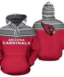 Arizona Cardinals Casual 3D Hoodie