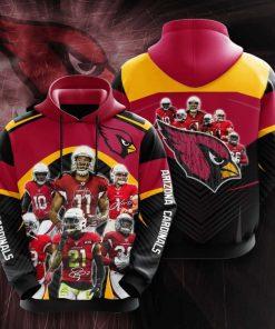 Arizona Cardinals No66 3D Hoodie