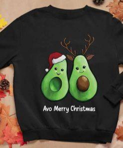 Avocado Avo Merry Christmas Xmas Gift Unisex T-Shirt