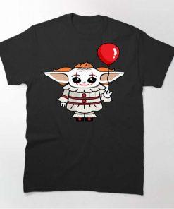Baby Yoda Clown Shirt