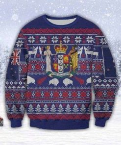Beautiful New Zealand 3d All Over Print Christmas Ugly Christmas Sweater