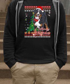 Bernese Mountain Dog Ugly Christmas Shirt
