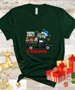Christmas 2021 Pajamas, Owl Merry Christmas Tee, Owl Family Holiday Pjs, Gifts Unisex T-Shirt