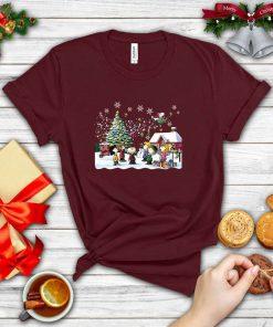 Christmas Singing S.no.opy Charlie Brown Christmas Red Shirt