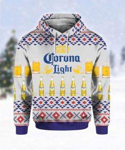 Corona Light Beer Christmas 3D Hoodie