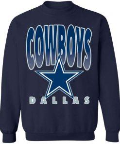 Dallas Cowboys Vintage NFL Crewneck Sweatshirt