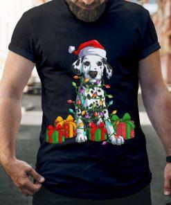 Dalmatian Christmas Light Shirt