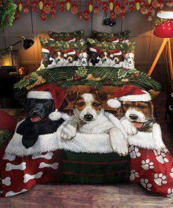 Dog Christmas Bedding Set
