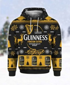 Guinness Foreign Extra Stout 3D Hoodie