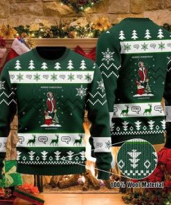 Liam Gallagher Christmas Tree Ugly Christmas Sweater