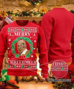 Mike Tyson Boxing Ugly Christmas Sweater