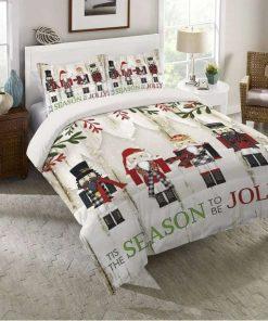 Nutcracker Christmas Bedding Set