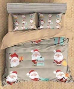 Santa Claus Merry Christmas Bedding Set