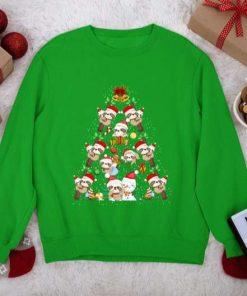 Sloth Christmas Tree Branch Gifts Unisex T-Shirt