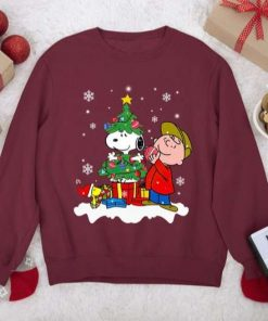Sn.oo.py Christmas,Sn.oo.py Woodstock Charlie Brown Gifts Unisex T-Shirt